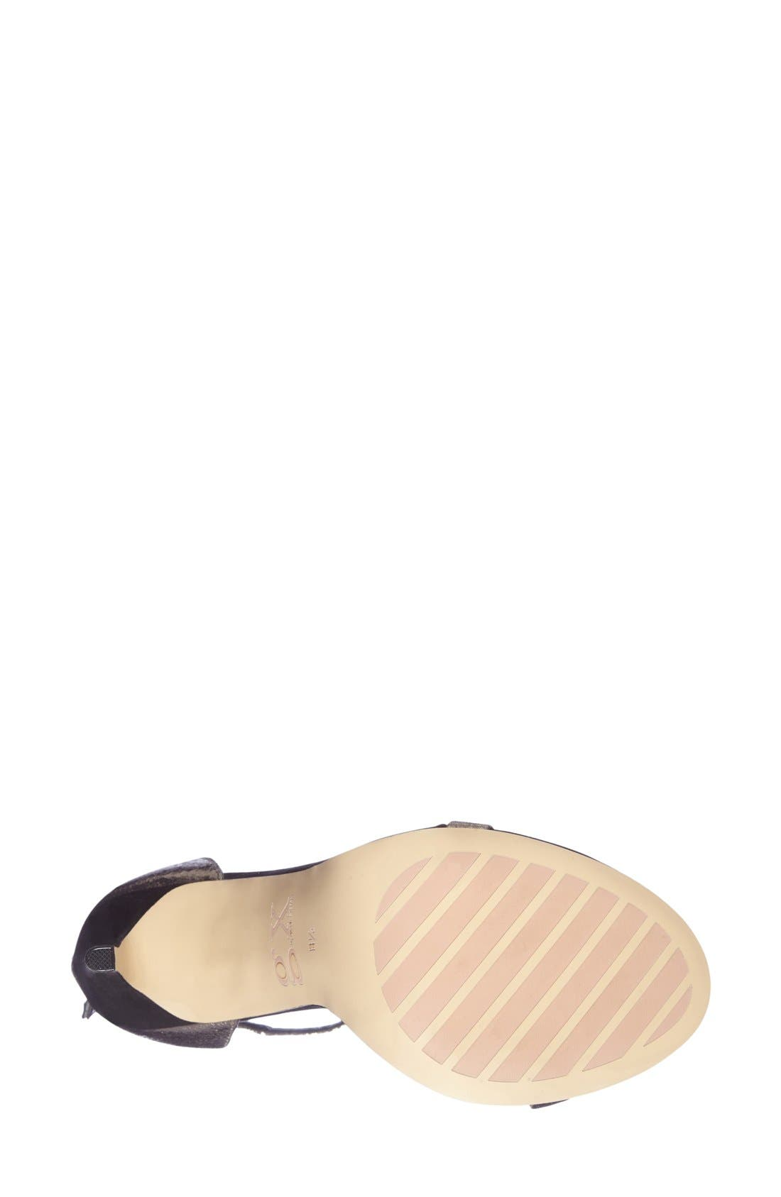 Alternate Image 4  - gx by Gwen Stefani 'Observe' Ankle Strap Sandal (Women)