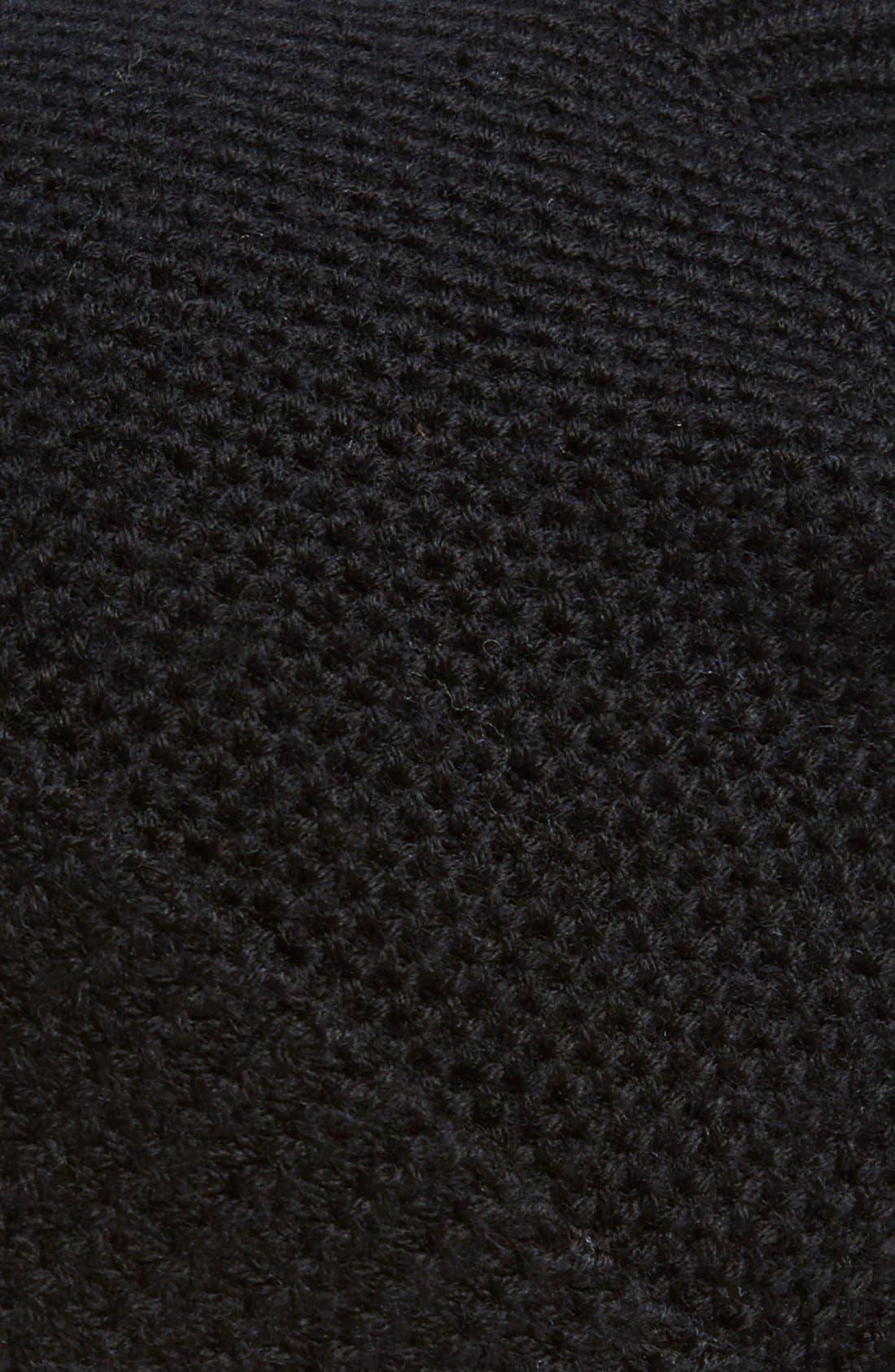Merino Wool Beanie,                             Alternate thumbnail 2, color,                             Polo Black