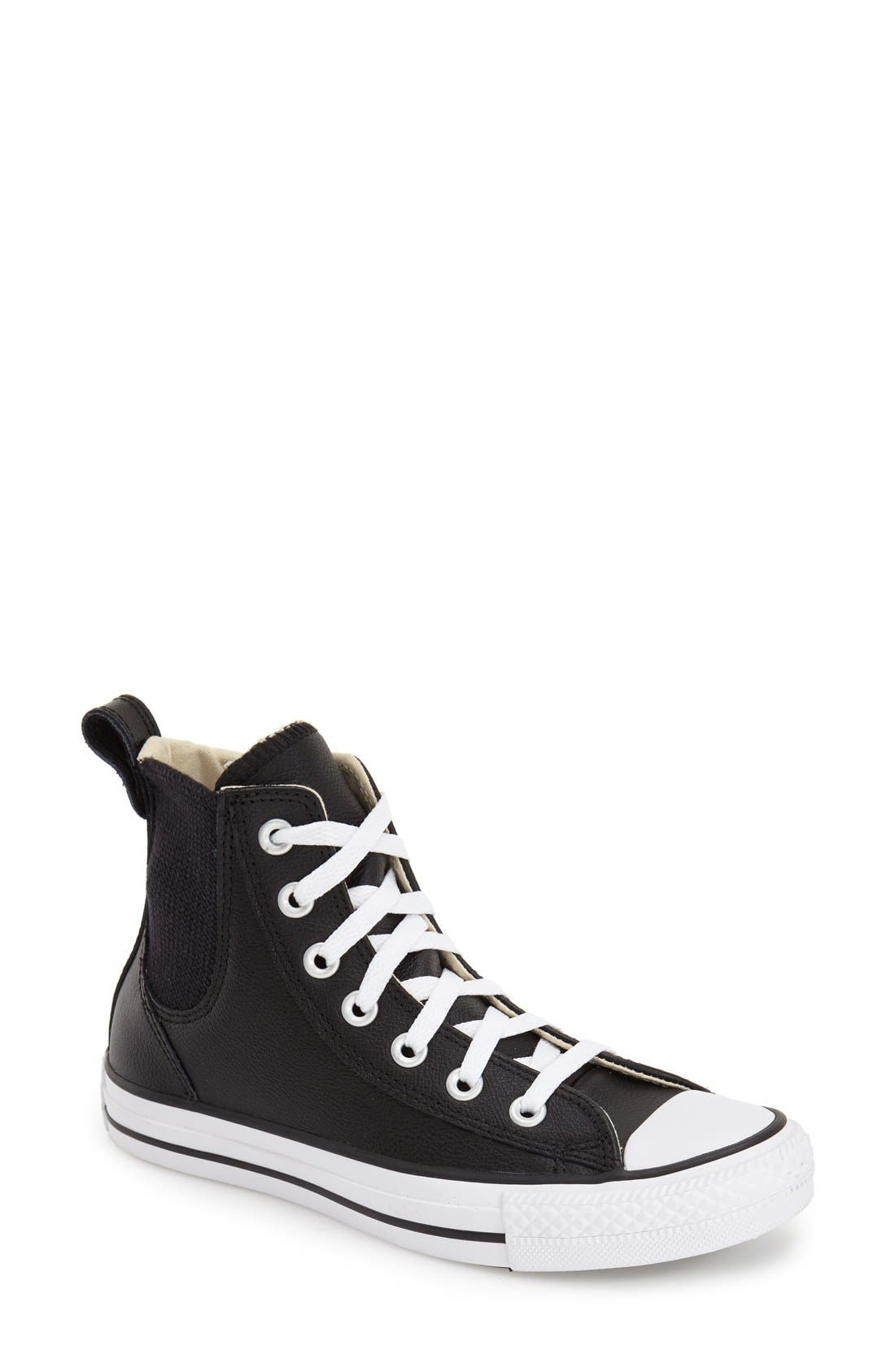 Alternate Image 1 Selected - Converse Chuck Taylor® All Star® 'Chelsee' High Top Sneaker (Women)