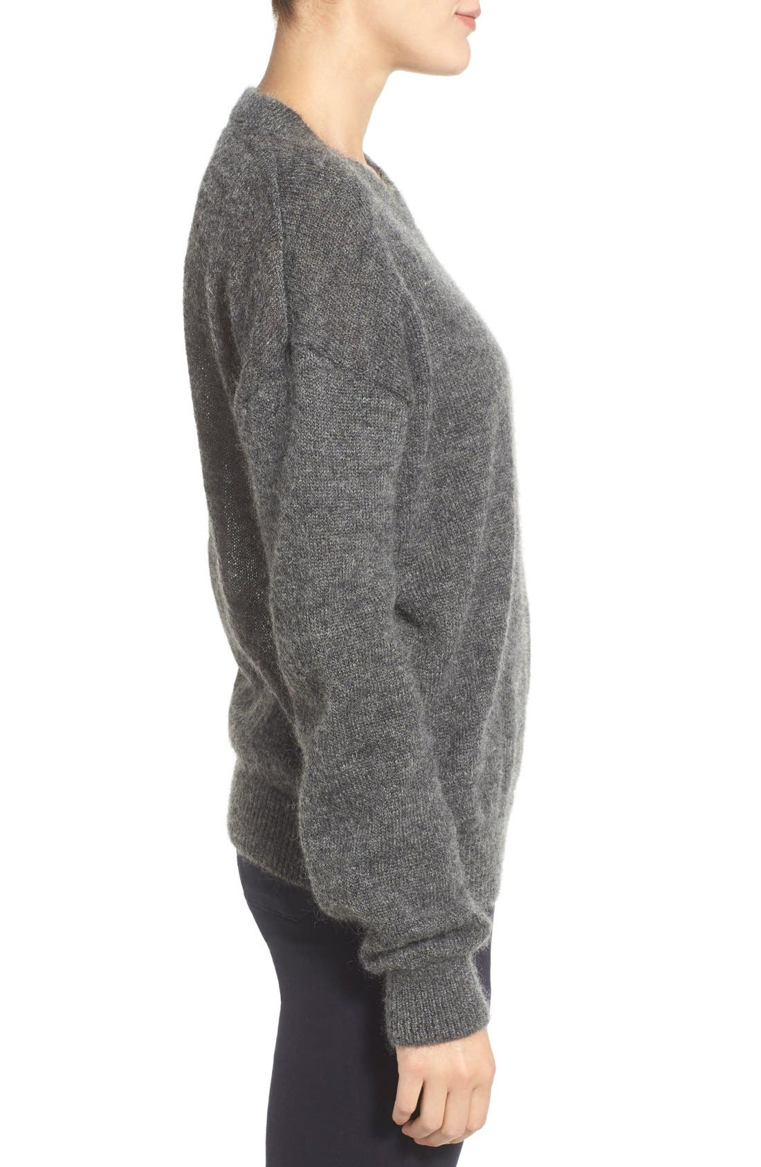 Alternate Image 3  - M.i.h. Jeans 'Delo' Mohair Blend Crewneck Sweater