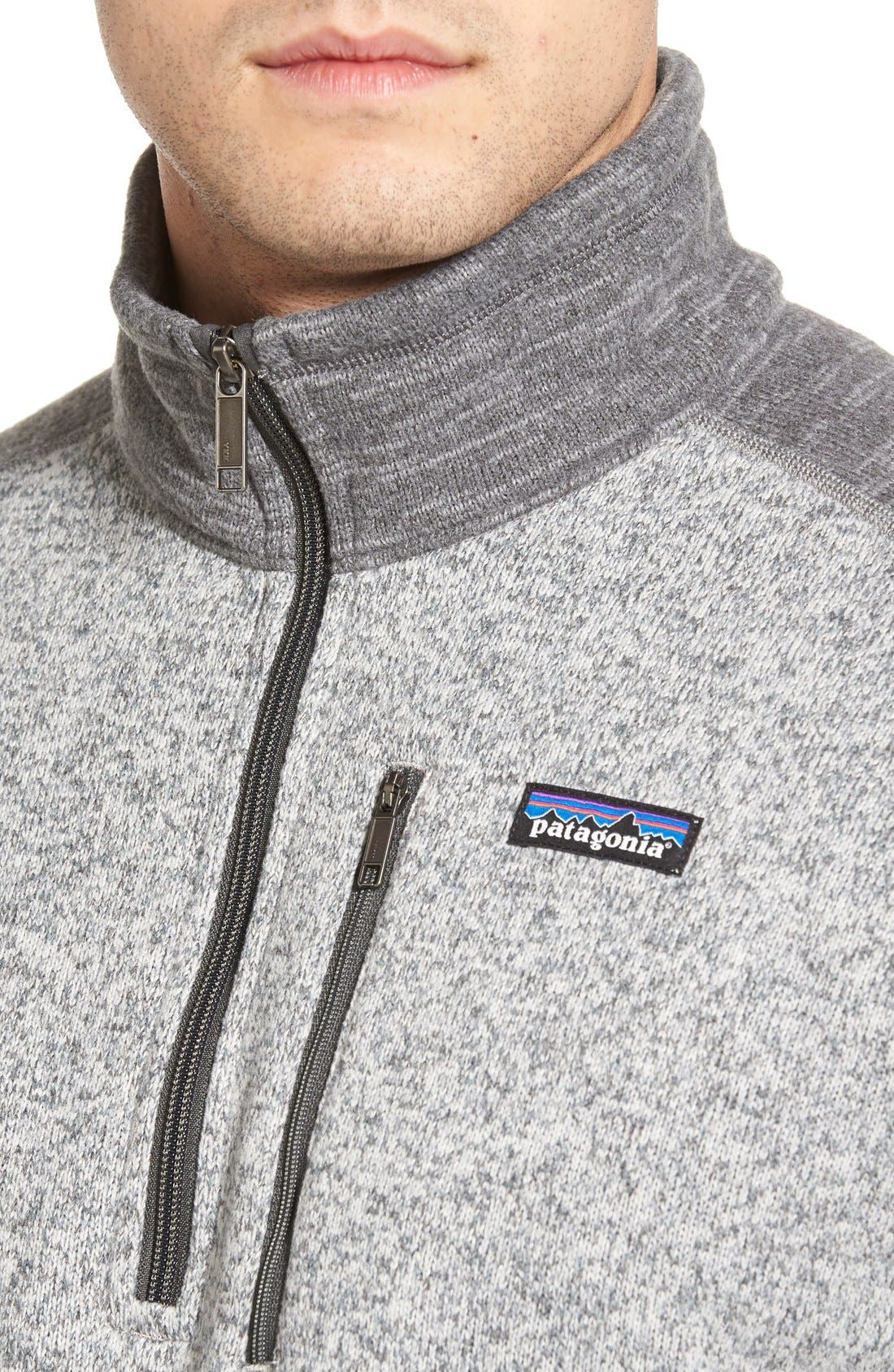 Alternate Image 4  - Patagonia 'Better Sweater' Quarter Zip Pullover