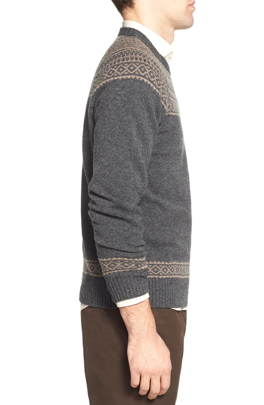 Bonobos Fair Isle Raglan Sleeve Lambswool Sweater | Nordstrom