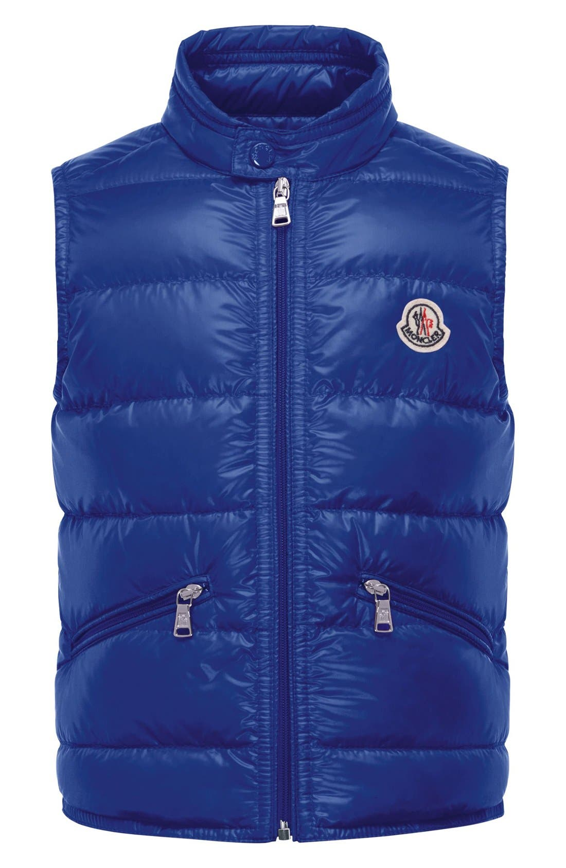 Moncler 'Gui' Water Resistant Quilted Down Vest (Little Boys & Big Boys)