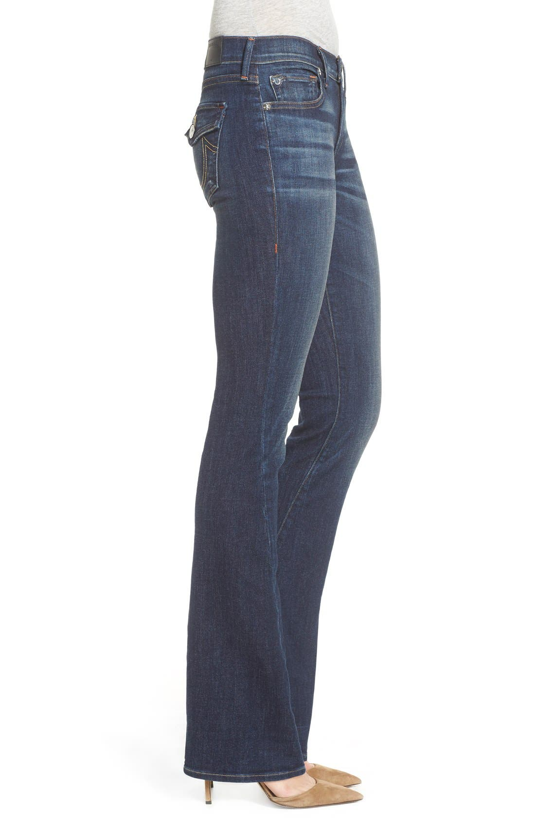 Alternate Image 3  - True Religion Brand Jeans 'Becca' Twisted Seam Bootcut Jeans (Boyfriend Wash)