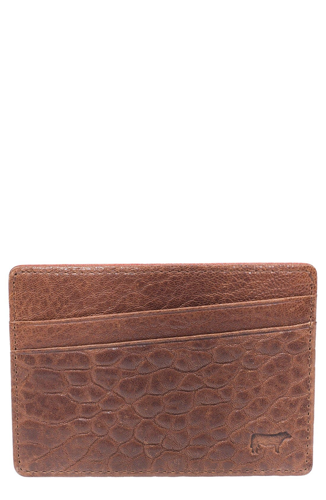 Main Image - Will Leather Goods 'Quip' Leather Card Case
