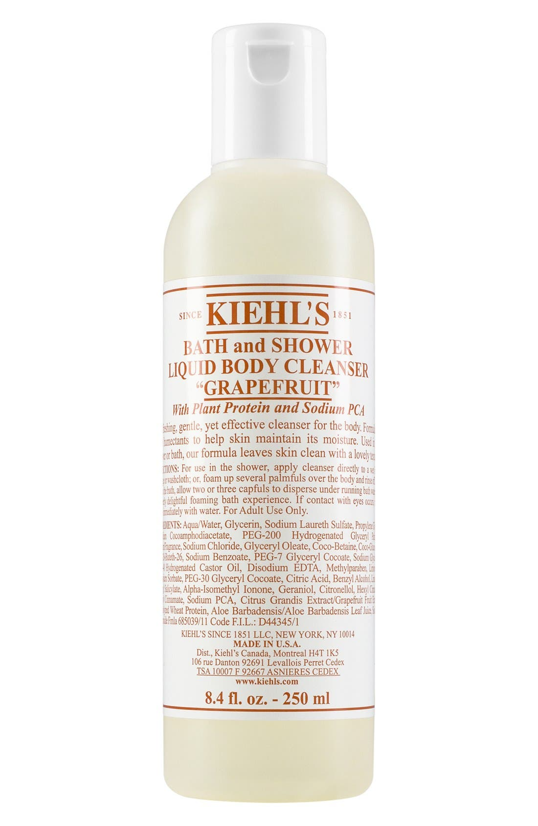 Kiehl's Since 1851 Bath & Shower Liquid Body Cleanser (Grapefruit)