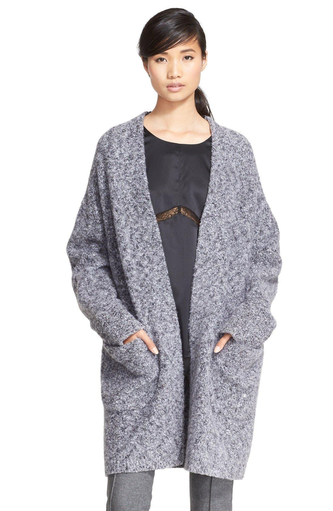 Main Image - rag & bone 'Diana' Wool Blend Sweater Coat