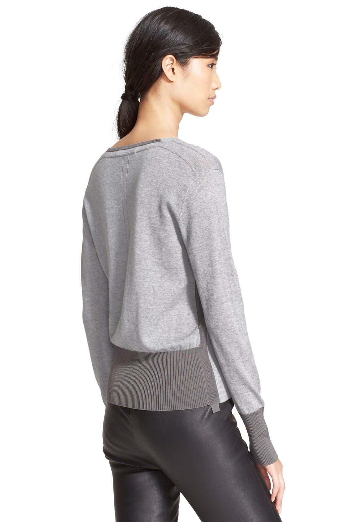 Alternate Image 2  - rag & bone 'Jessica' Merino Wool V-Neck Sweater