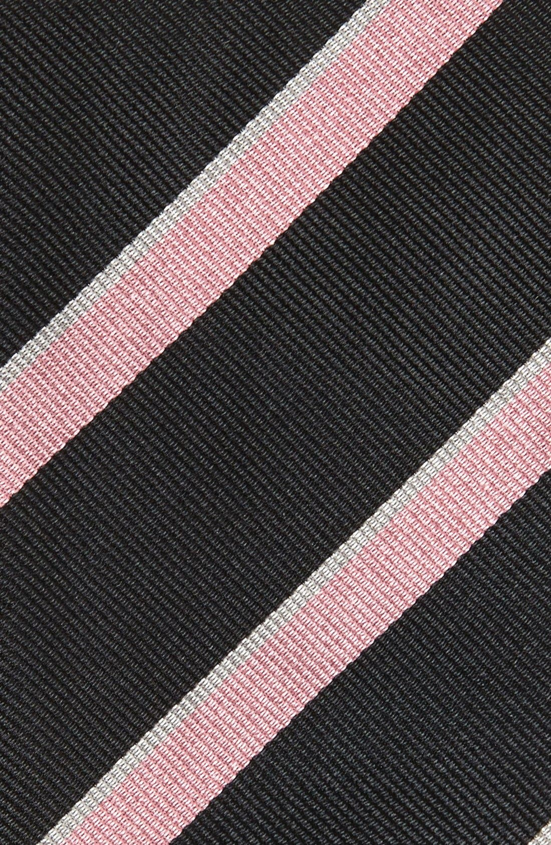 Alternate Image 2  - Gitman Stripe Silk Tie