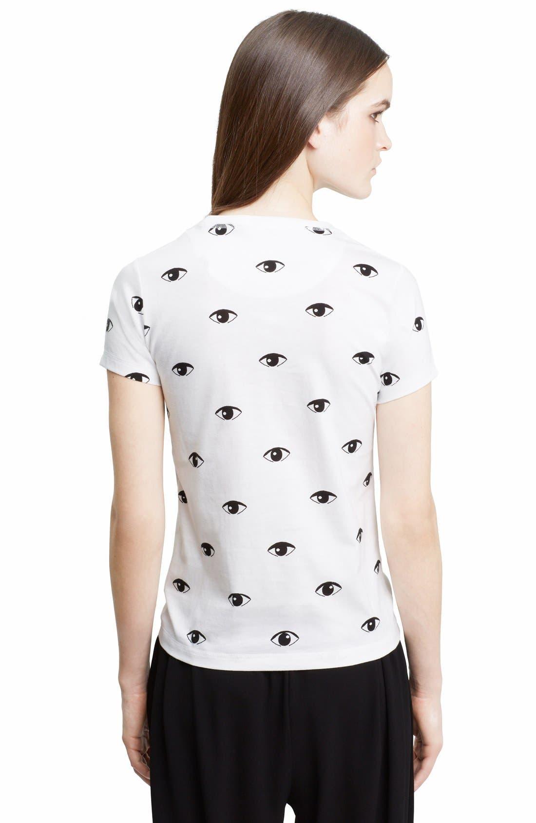 Alternate Image 2  - KENZO Eye Print Cotton T-Shirt