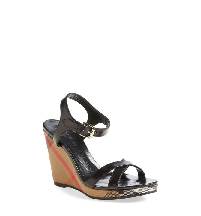 Main Image - Burberry 'Rastrickson' Wedge Sandal ... - Burberry 'Rastrickson' Wedge Sandal (Women) Nordstrom