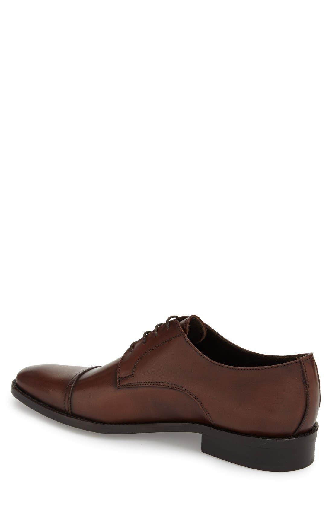 Alternate Image 2  - To Boot New York 'Maxwell' Cap Toe Derby (Men)