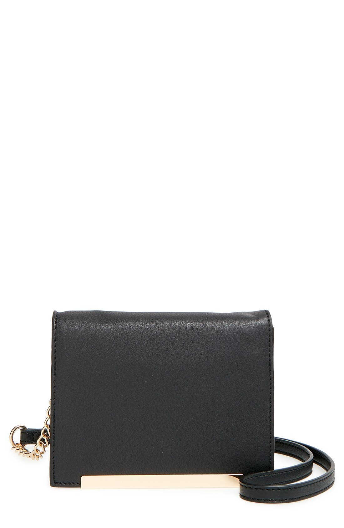 Main Image - BP. Metal Bar Mini Crossbody Bag