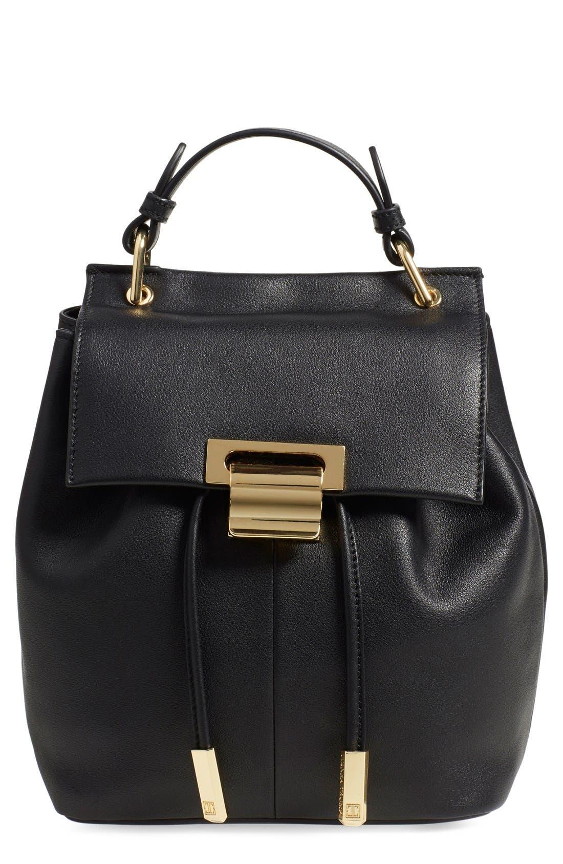 Alternate Image 1 Selected - Ivanka Trump 'Mini Turner' Leather Backpack