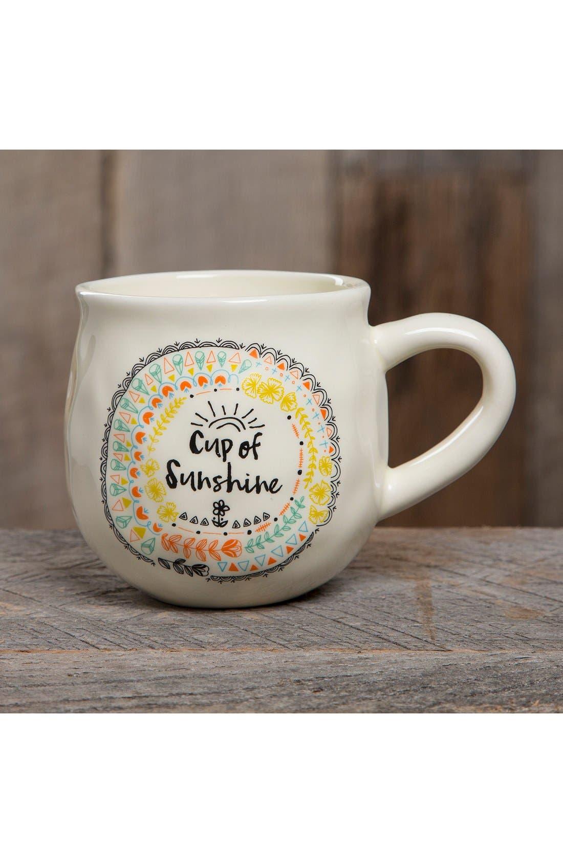 Alternate Image 2  - Natural Life 'Cup of Sunshine' Ceramic Coffee Mug