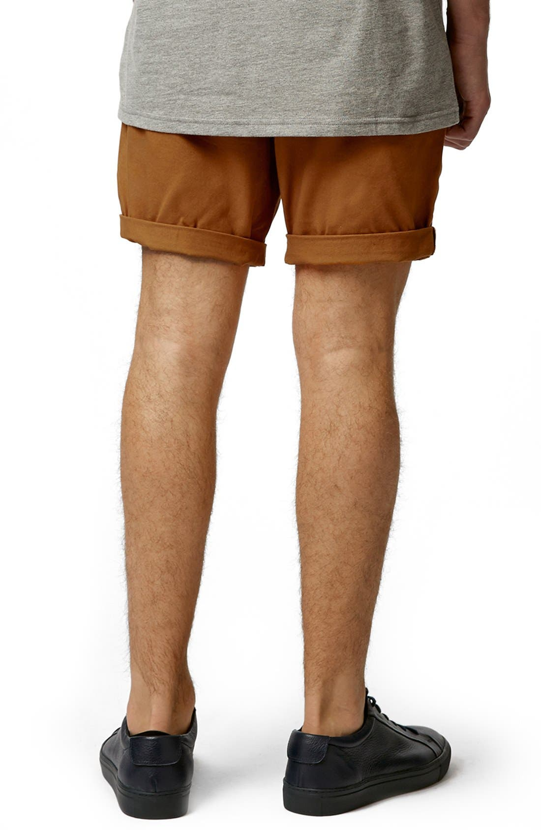 Chino Shorts,                             Alternate thumbnail 2, color,                             Mustard
