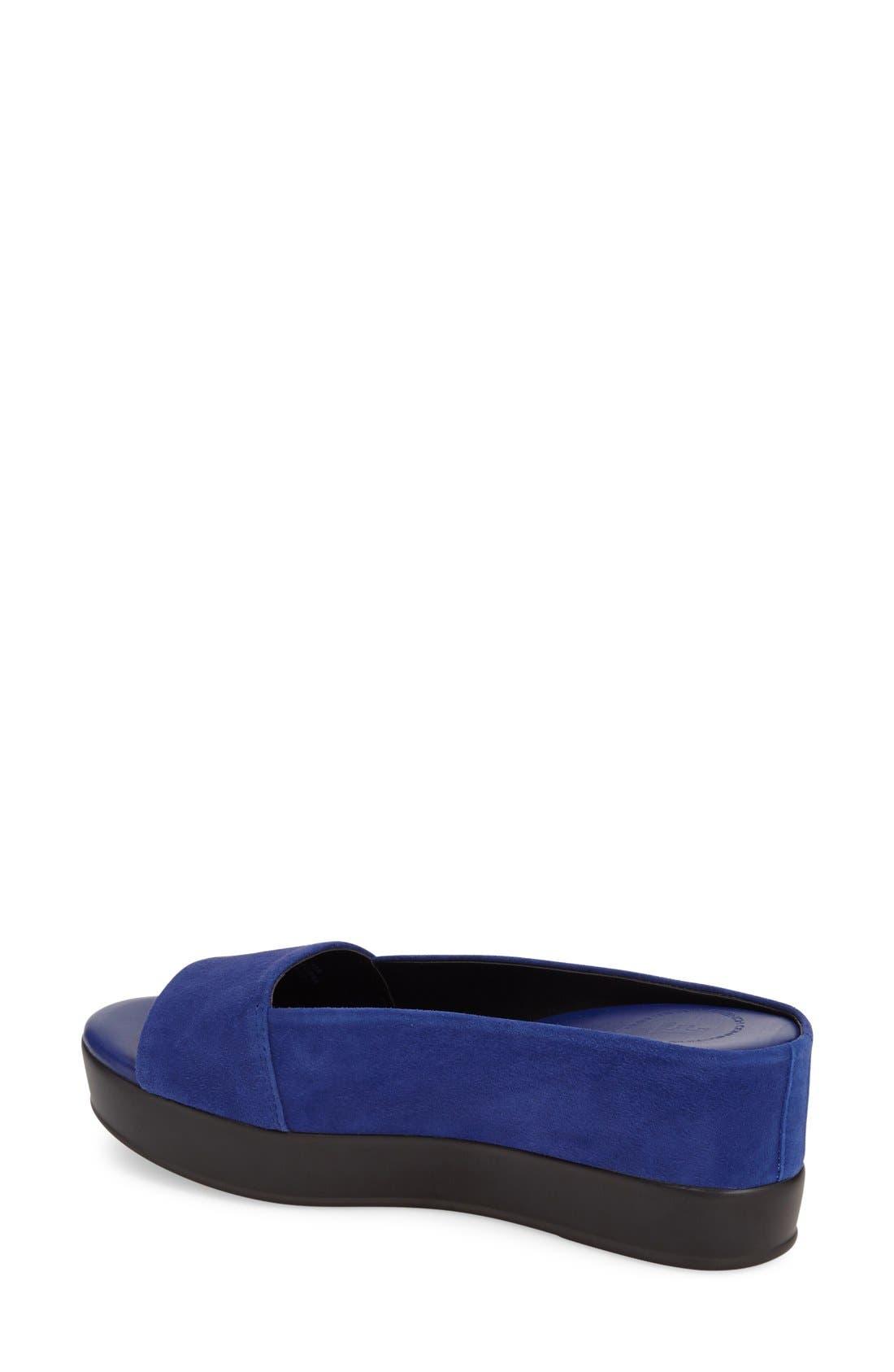 Alternate Image 2  - French Connection 'Pepper' Slip-On Platform Sandal (Women)