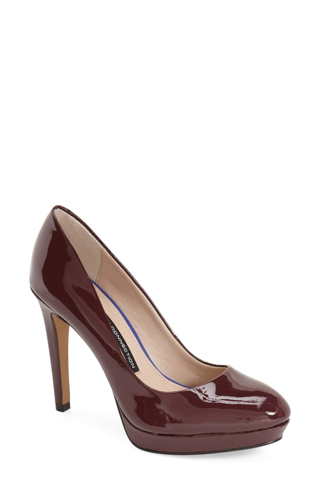 Alternate Image 1 Selected - French Connection 'Robbie' Round Toe Platform Pump (Women)
