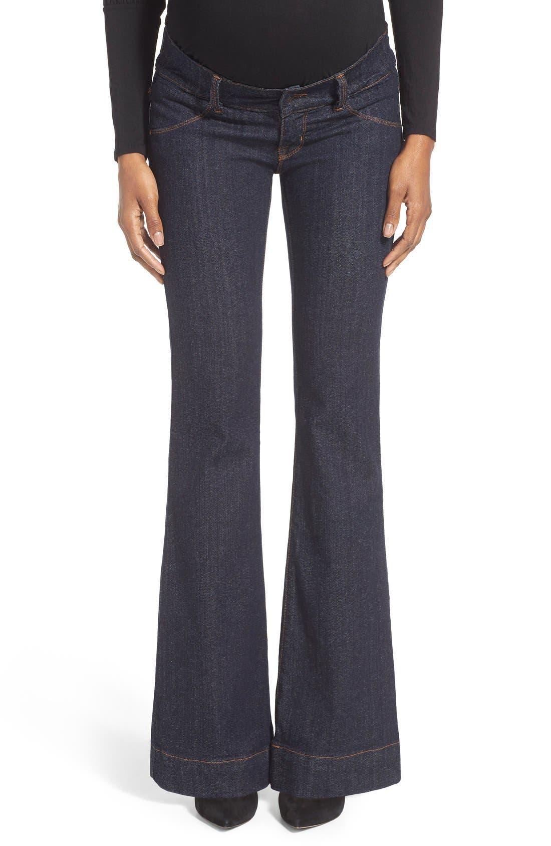 Main Image - Maternal America Bootcut Stretch Maternity Jeans