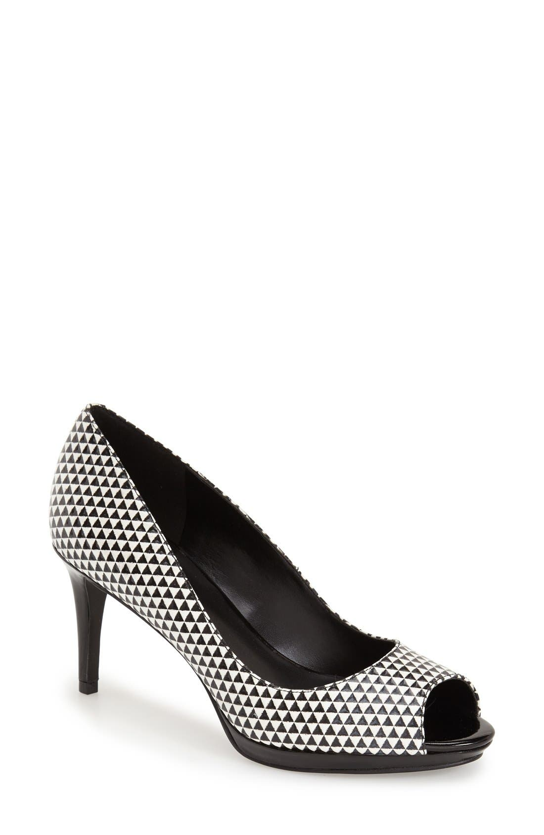 Nine West Gelabelle Peep Toe Pump Women Nordstrom