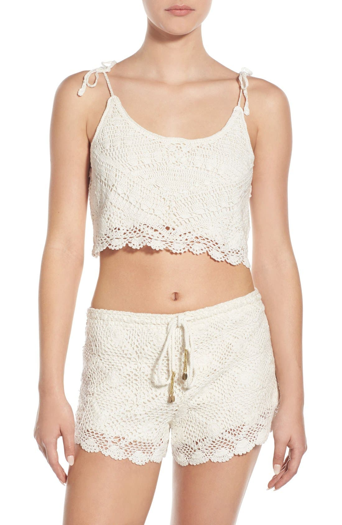 Main Image - Billabong 'Ray of Light' Crop Top