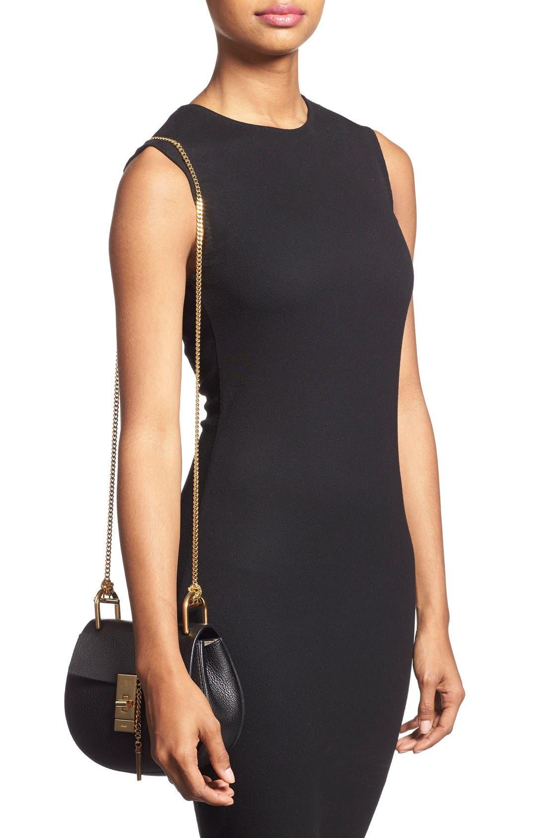 Alternate Image 2  - Chloé 'Mini Drew' Leather Shoulder Bag