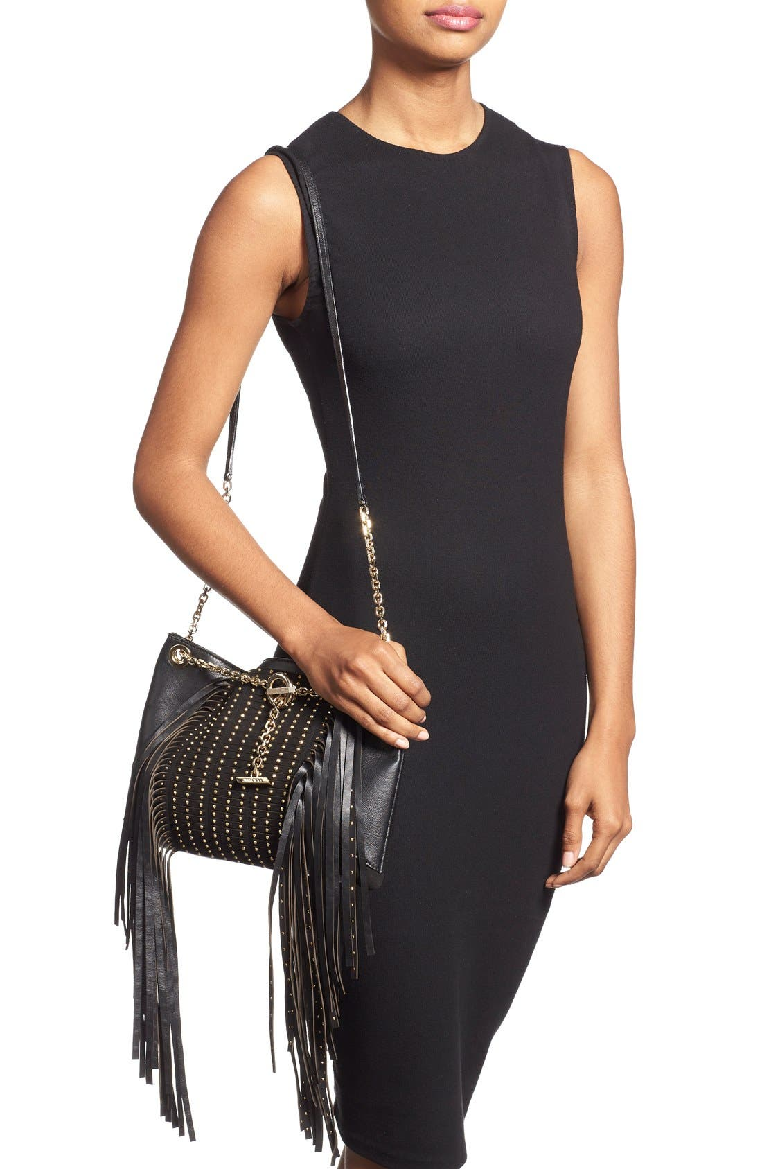 Alternate Image 3  - Jimmy Choo 'Alexia' Fringe Crossbody Bag