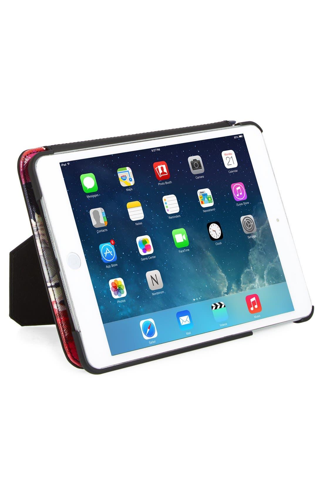 Alternate Image 2  - kate spade new york 'hazy floral' iPad Mini hardcase folio