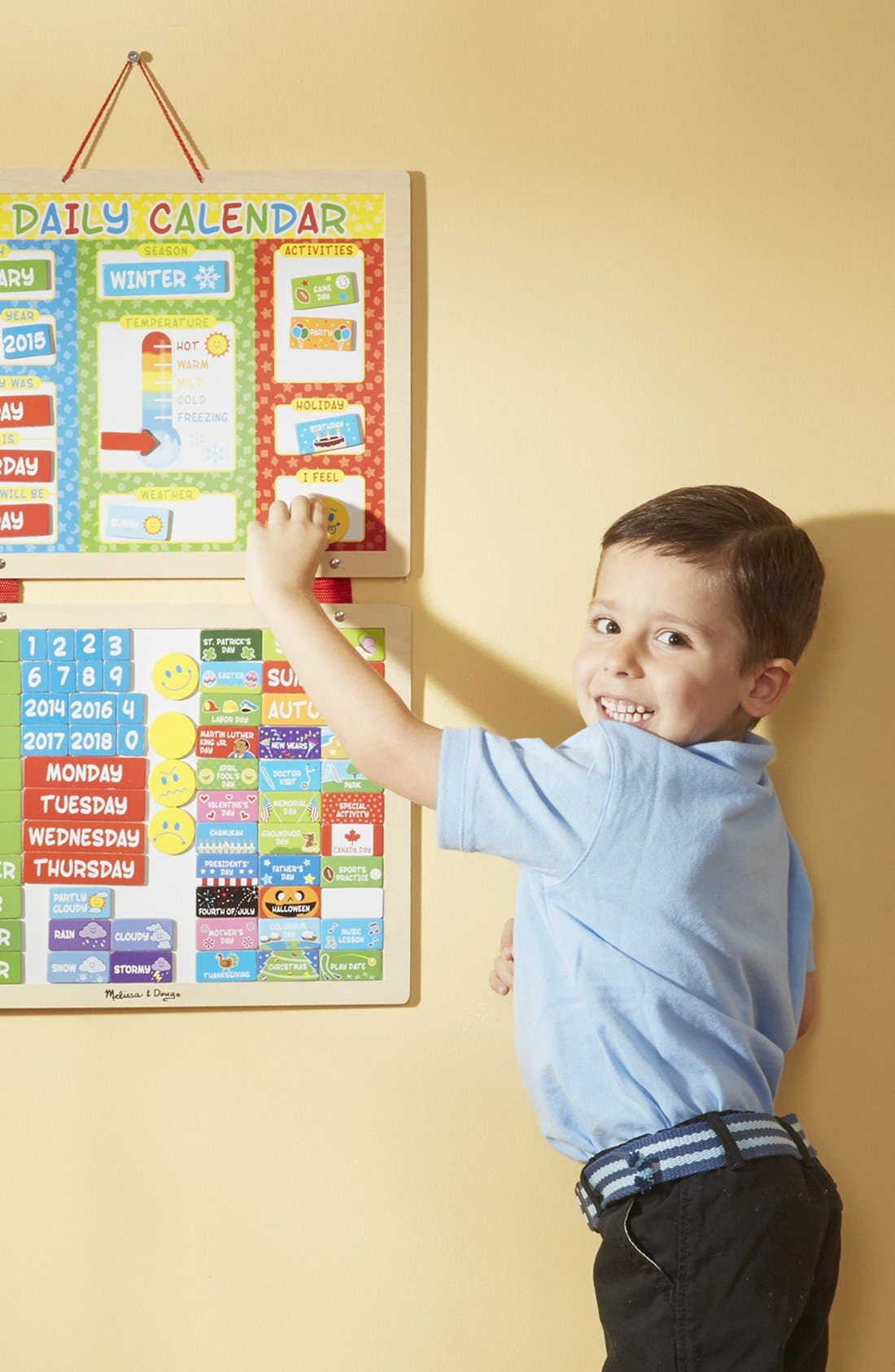 Alternate Image 2  - Melissa & Doug Daily Magnet Calendar