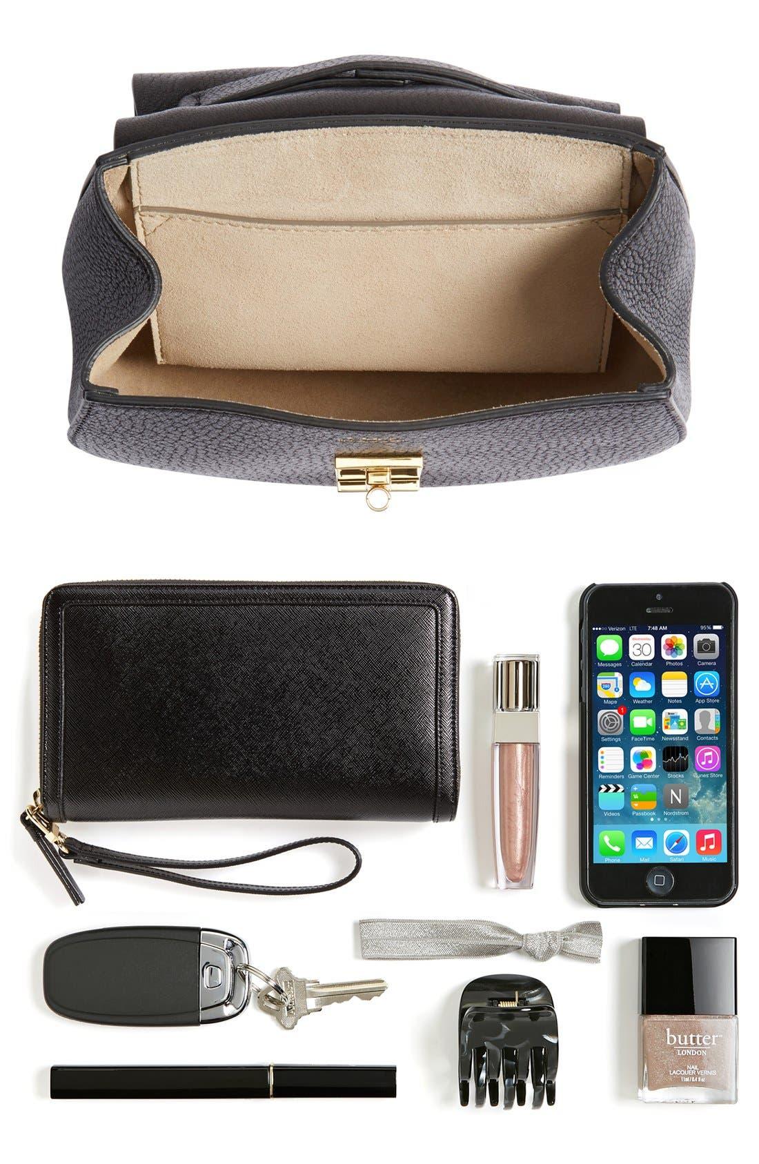 Alternate Image 7  - Chloé 'Mini Drew' Leather Shoulder Bag