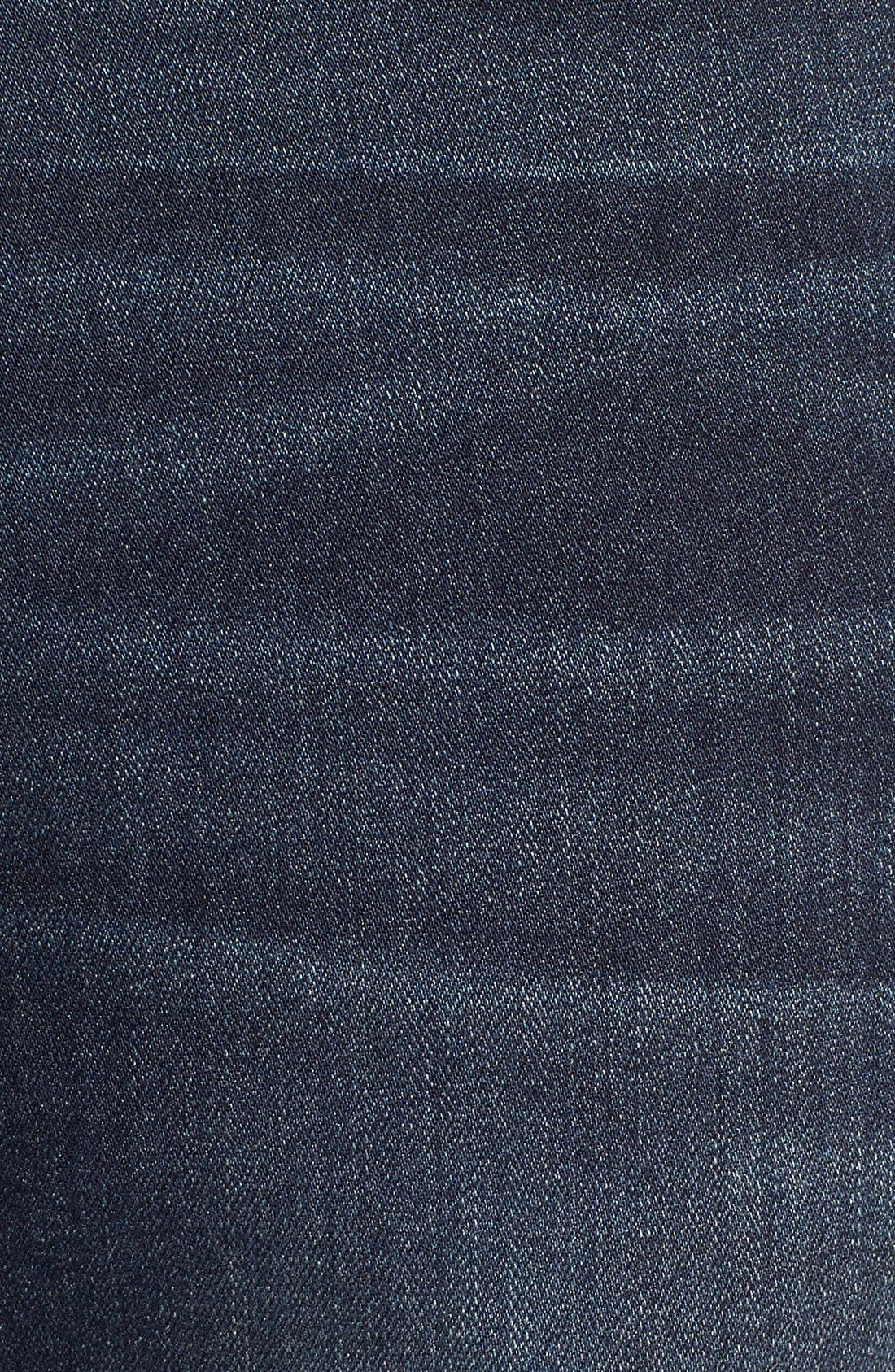 'Normandie' Straight Leg Jeans,                             Alternate thumbnail 6, color,                             Rigby