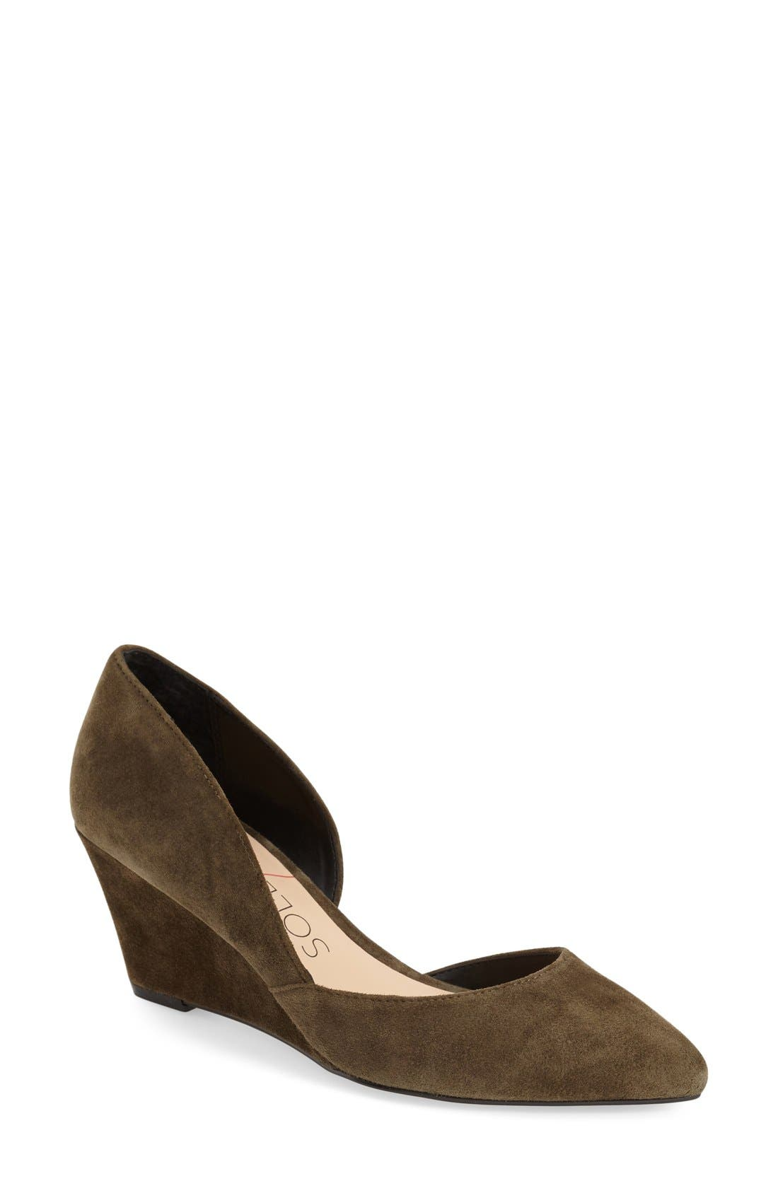 Sole Society 'Jillian' d'Orsay Wedge (Women)