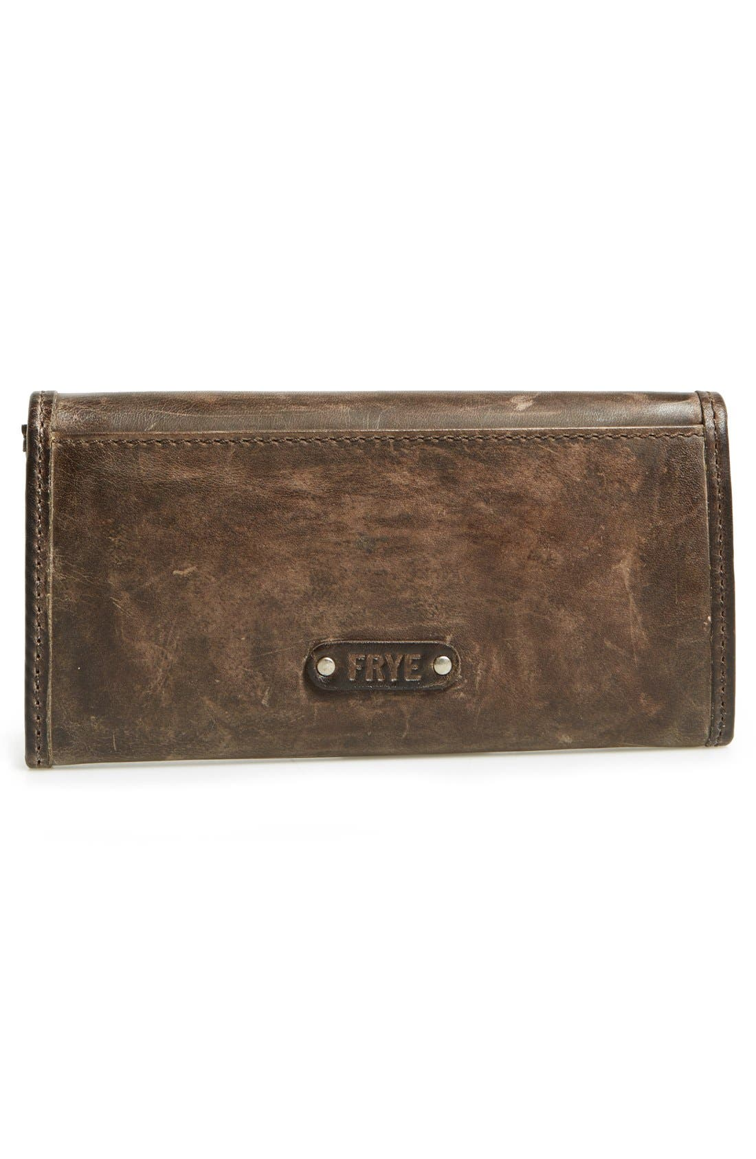 'Melissa' Continental Wallet,                             Alternate thumbnail 6, color,                             Slate