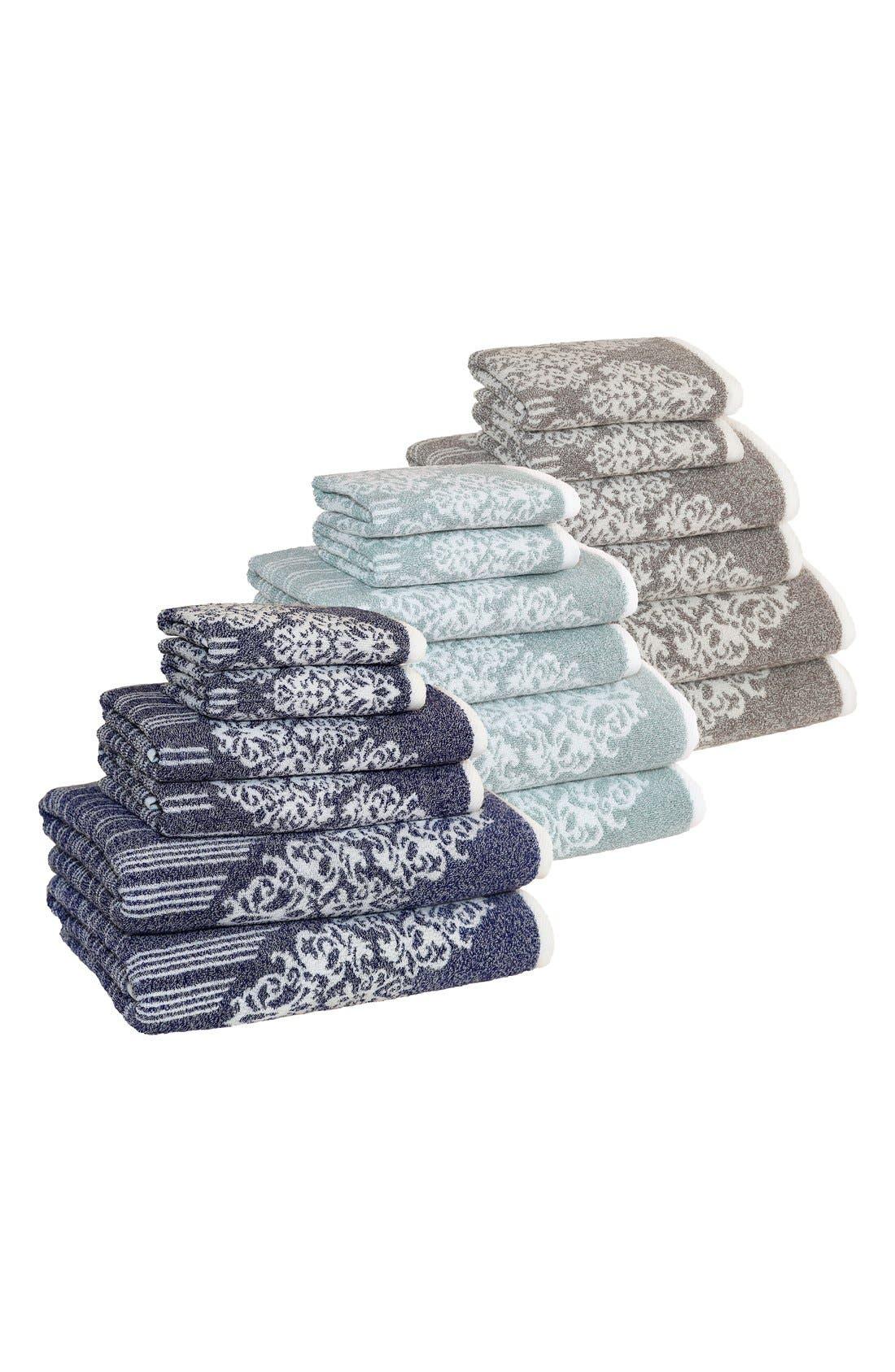 Linum 'Gioia' Bath Towels, Hand Towels & Washcloths,                             Alternate thumbnail 4, color,