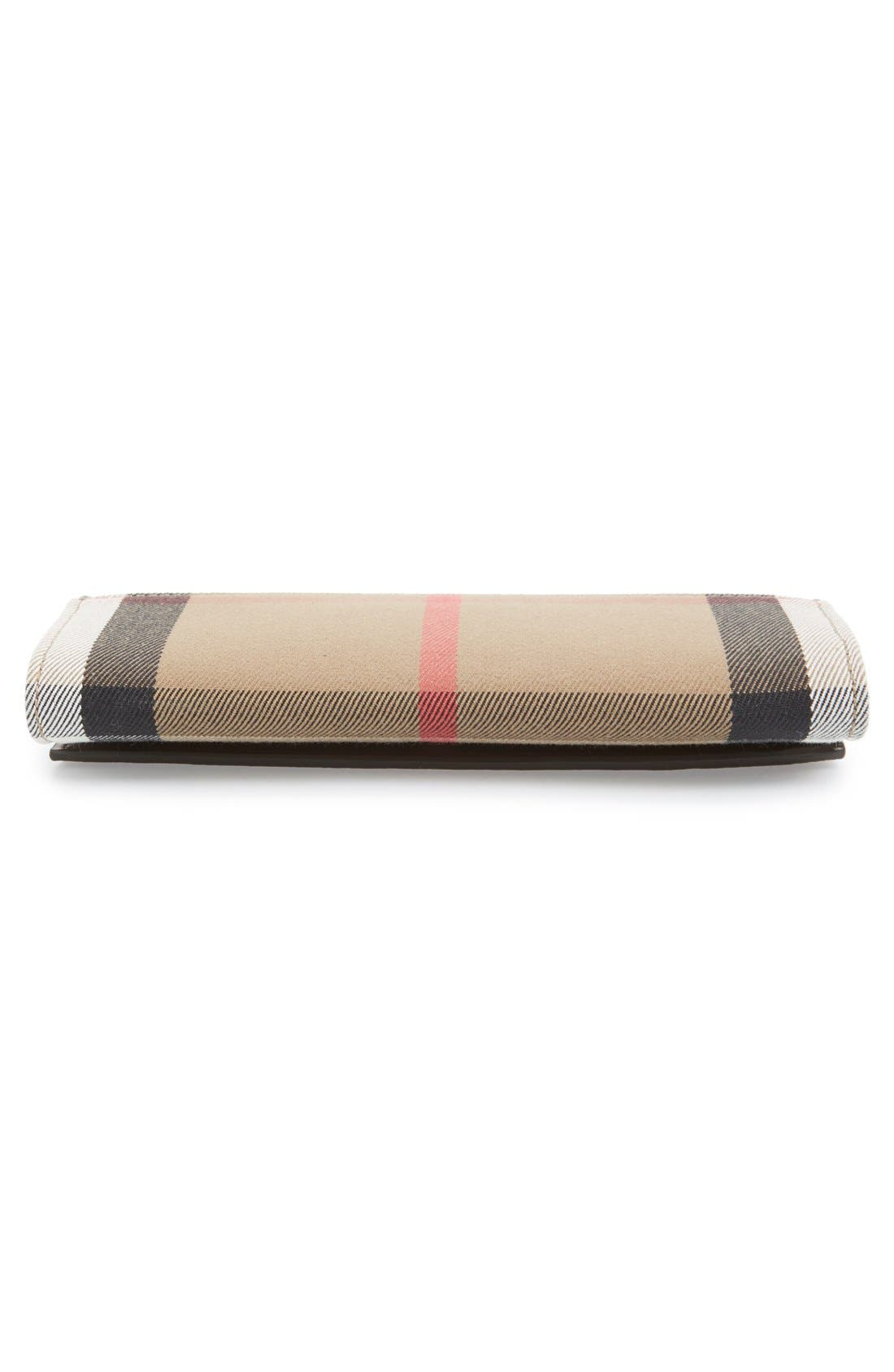 Alternate Image 6  - Burberry 'Porter - Check' Continental Wallet