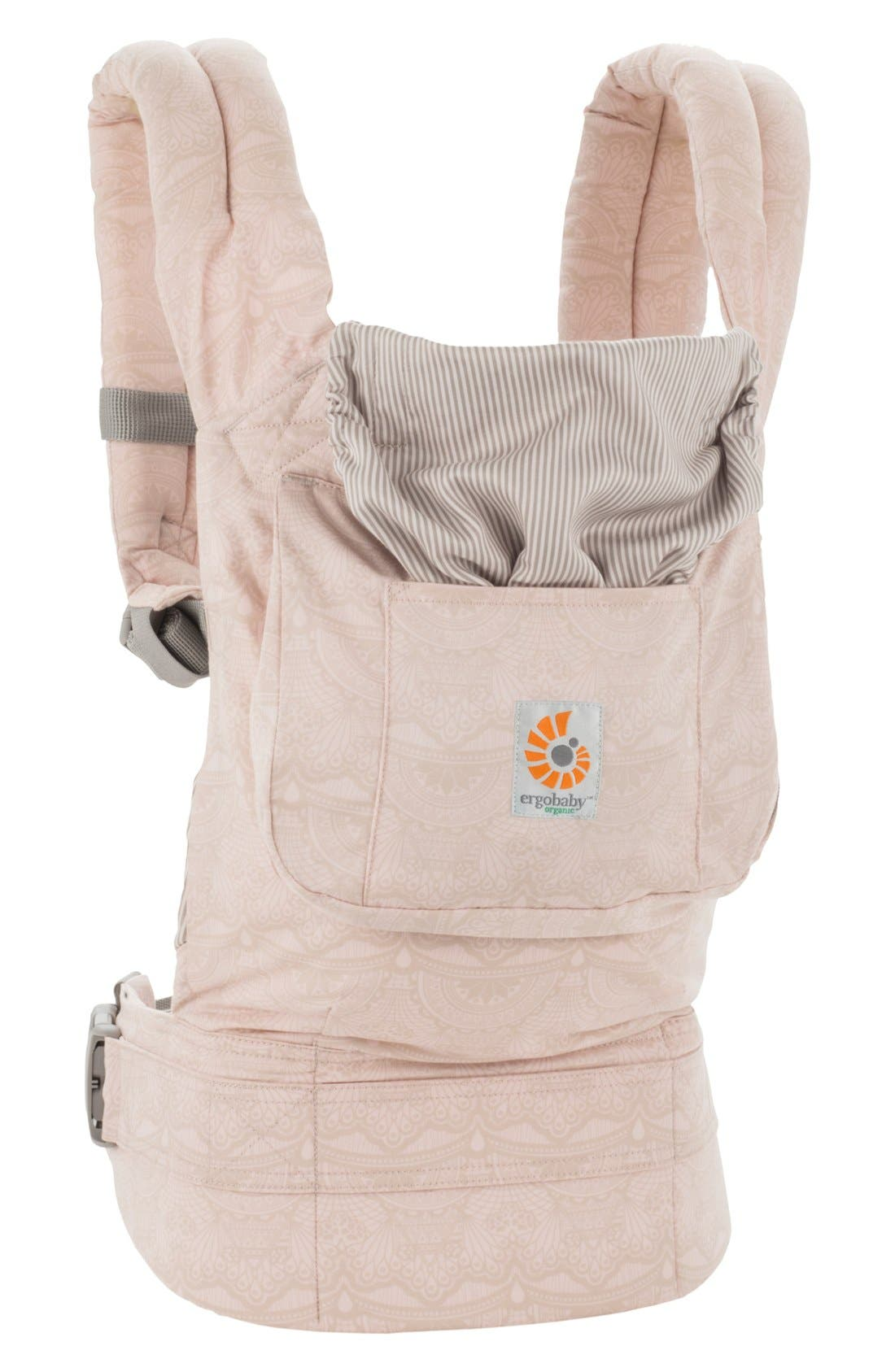 Alternate Image 3  - ERGObaby Organic Cotton Baby Carrier (Baby)