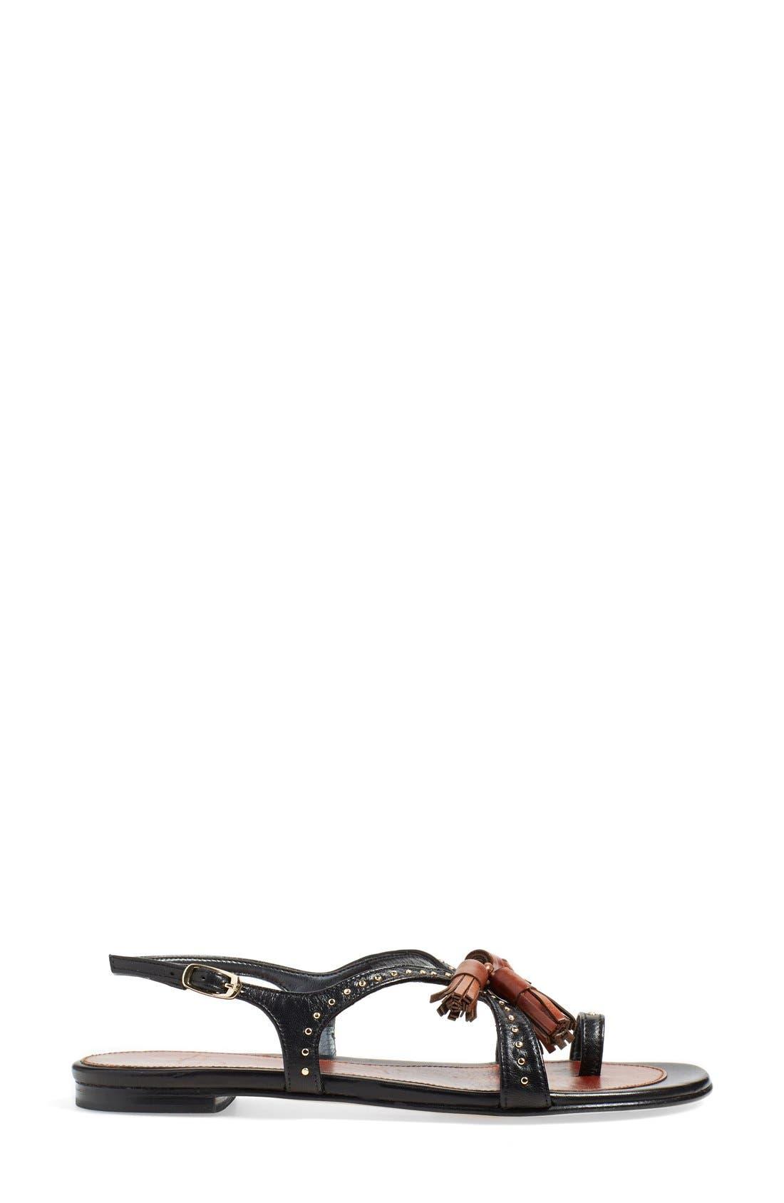 Alternate Image 4  - Stuart Weitzman 'Flap Again' Flat Sandal (Women)