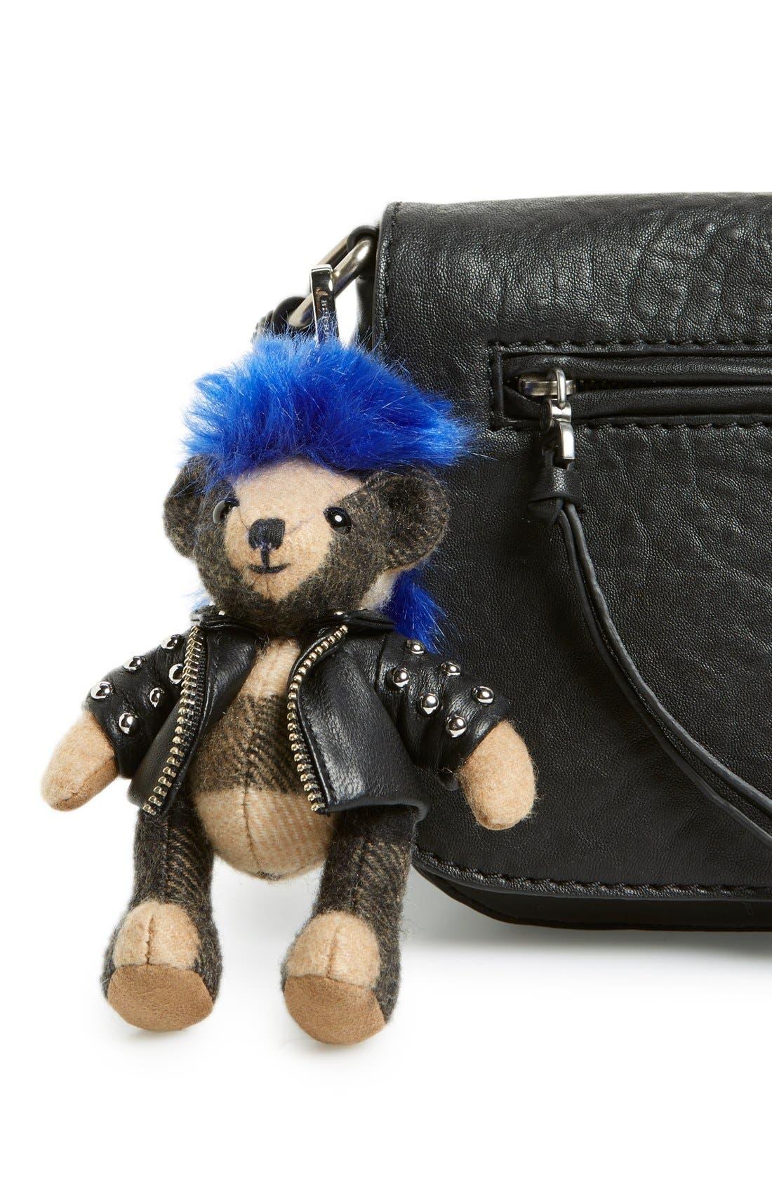 Alternate Image 2  - Burberry 'Thomas Punk Bear' Bag Charm