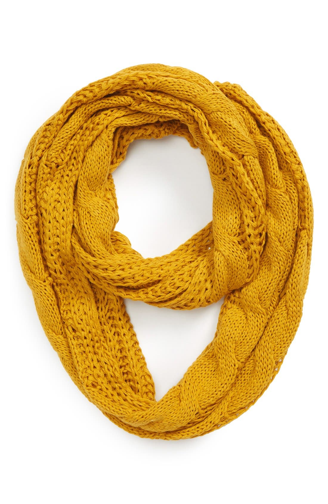 Main Image - BP. 'Heritage' Cable Knit Infinity Scarf