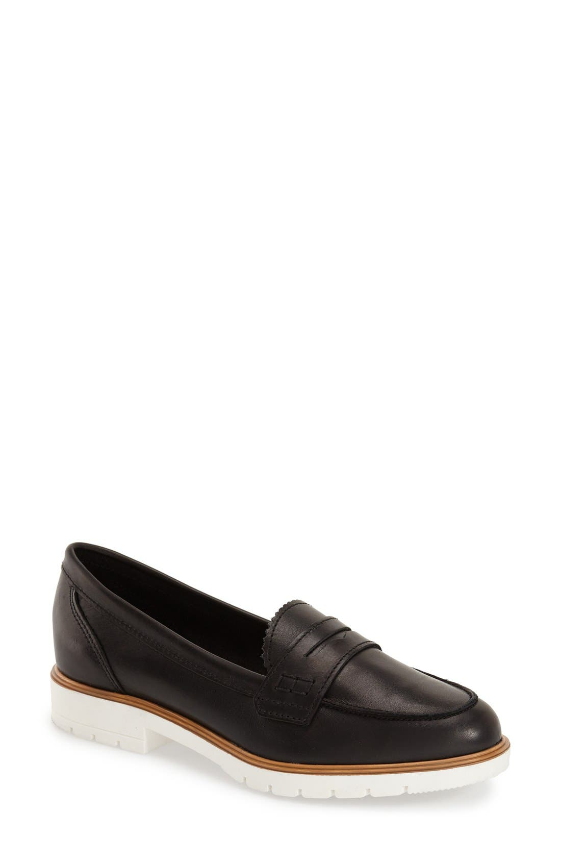 Alternate Image 1 Selected - Dune London 'Gleat' Loafer (Women)