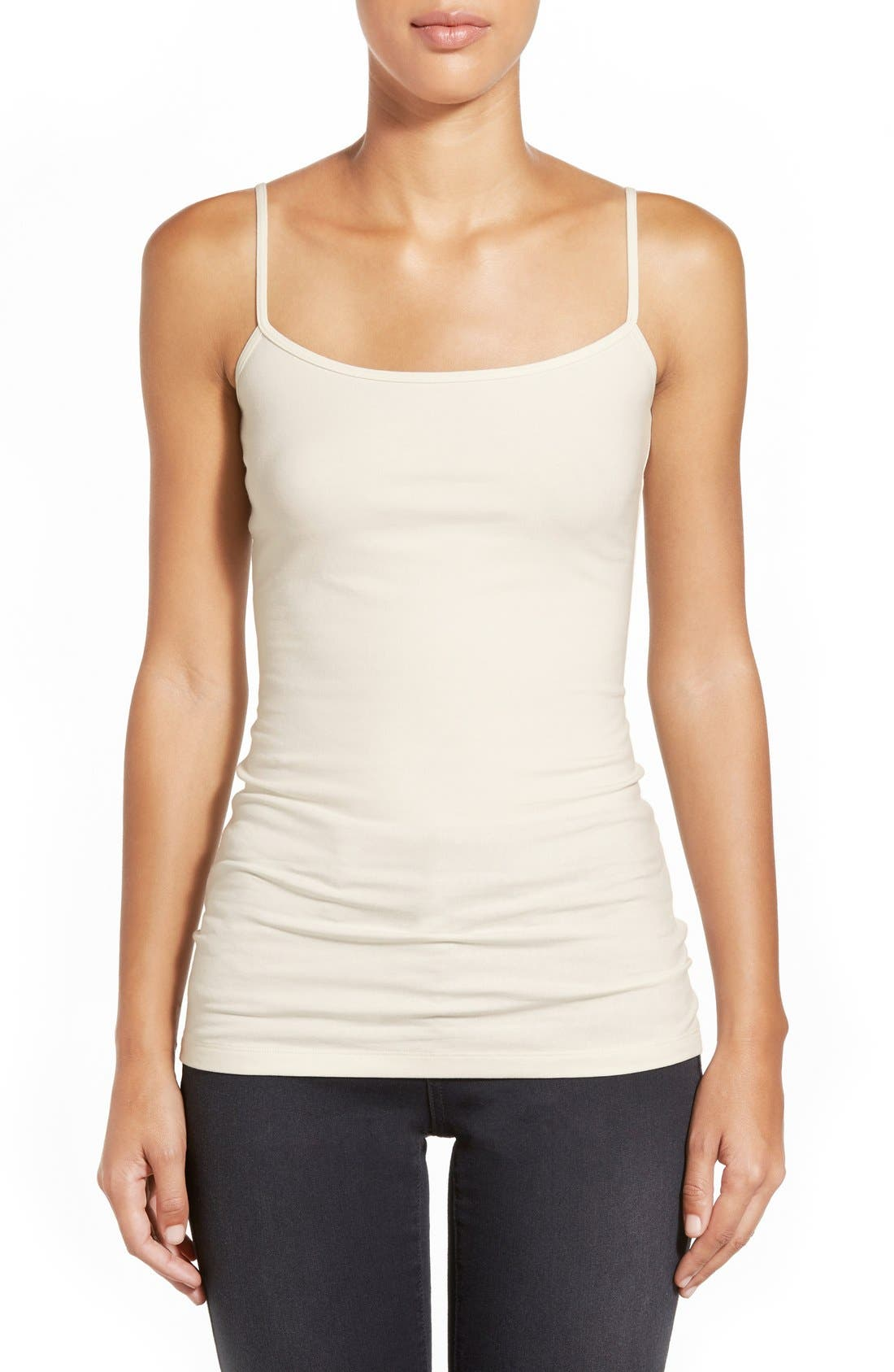Alternate Image 1 Selected - Halogen® 'Absolute' Camisole (Regular & Petite)