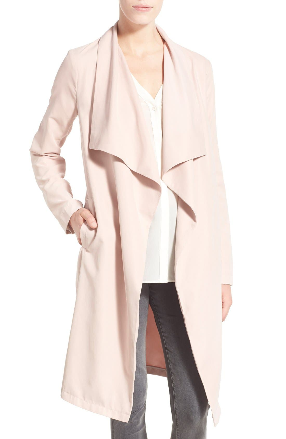 Main Image - cupcakes and cashmere 'Laswell' Drape Coat
