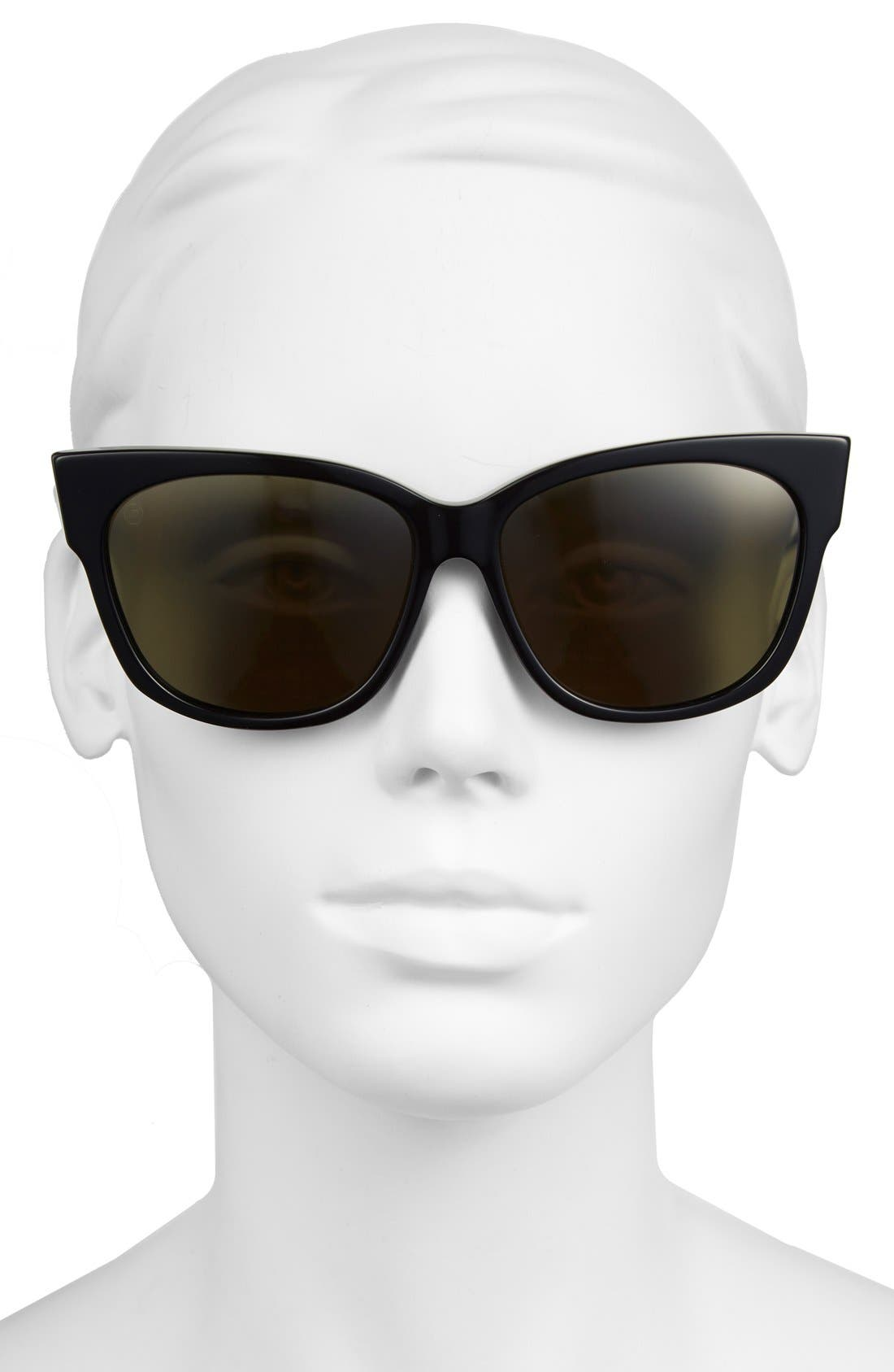 Alternate Image 2  - ELECTRIC 'Danger Cat LX' 59mm Cat Eye Sunglasses