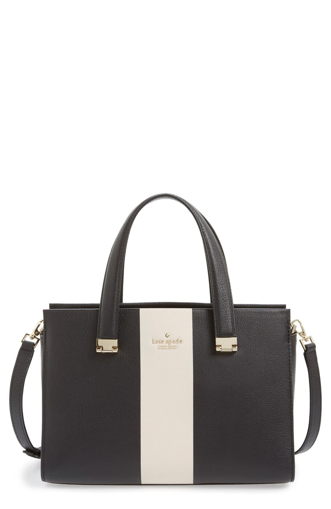Main Image - kate spade new york 'concord street - gail' leather satchel