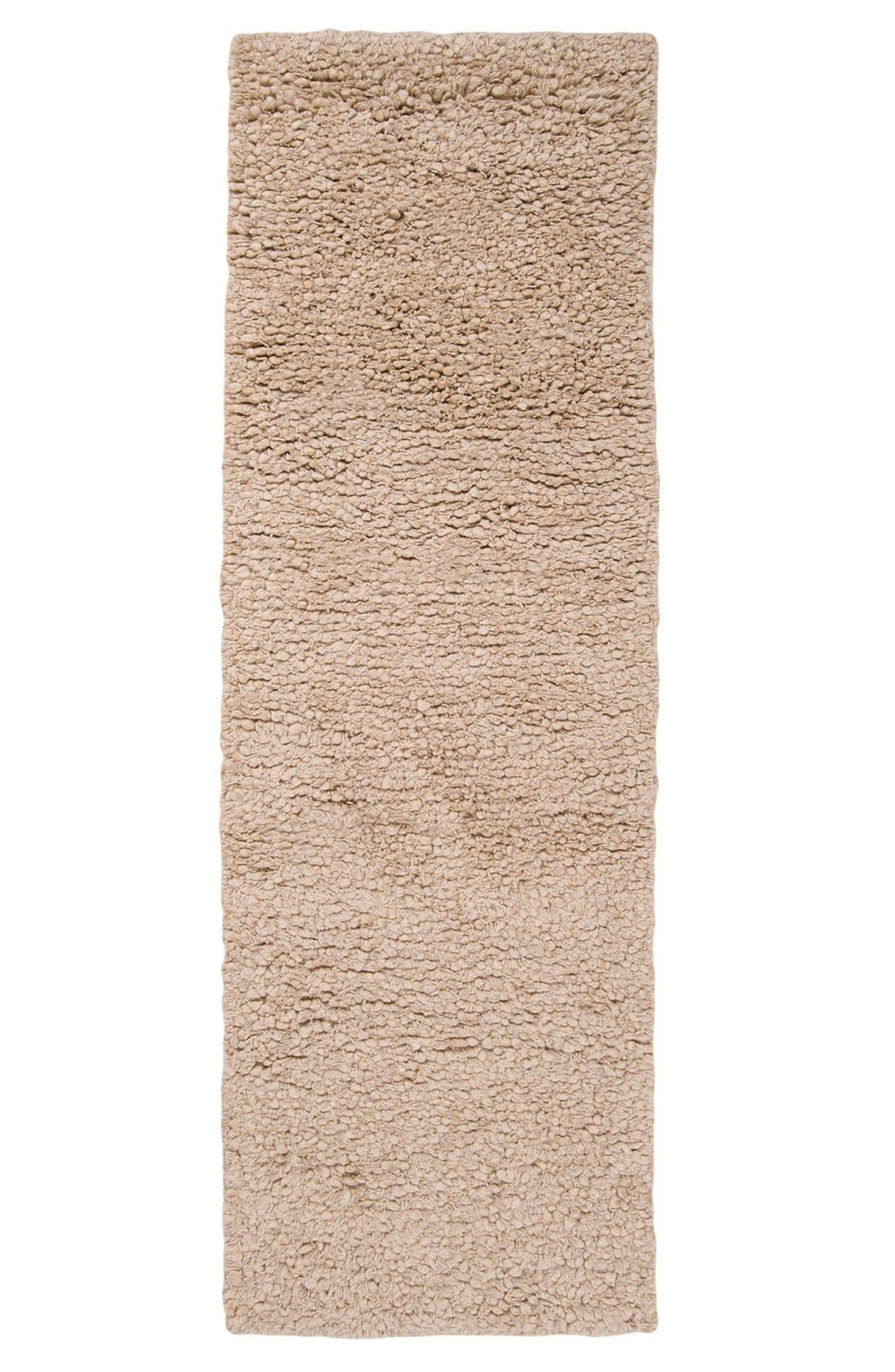 'Metropolitan' Wool Rug,                             Alternate thumbnail 2, color,                             Beige