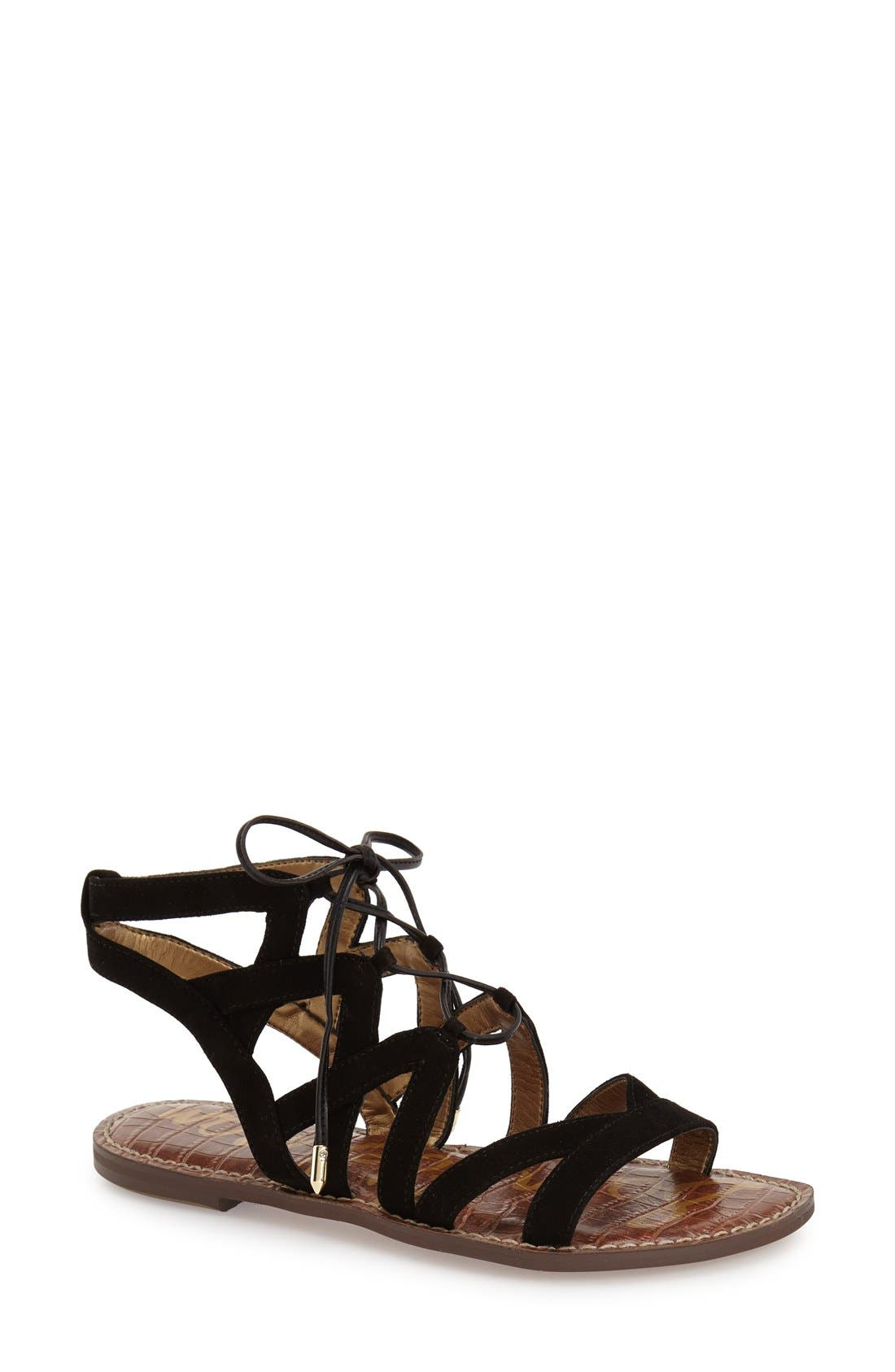Main Image - Sam Edelman Gemma Lace-Up Sandal (Women)