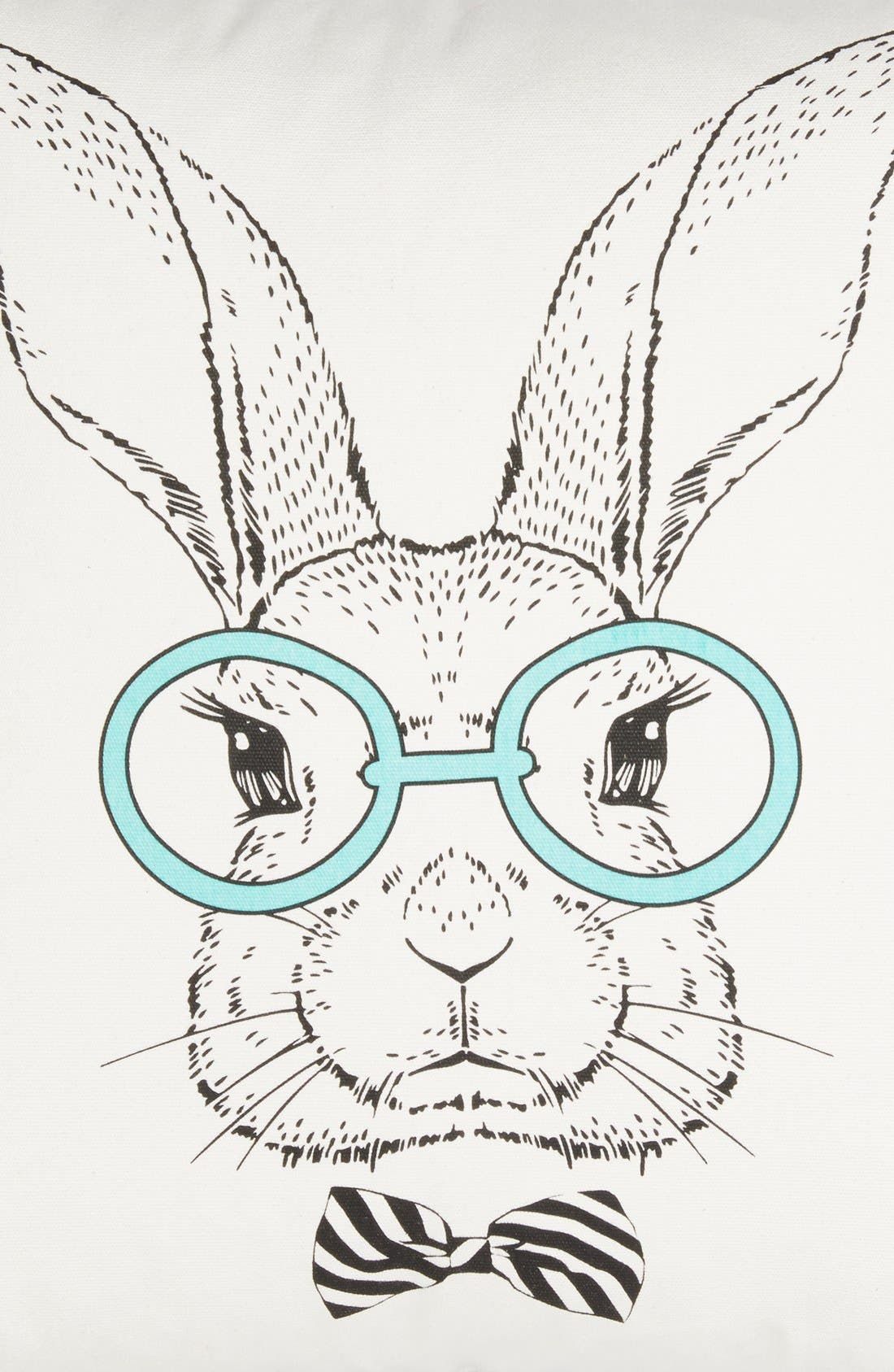 Alternate Image 3  - Levtex 'Rabbit with Specs' Pillow