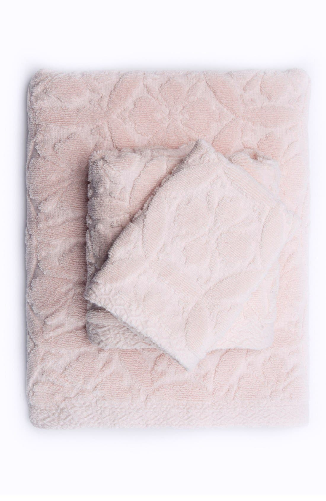 Perugia Bath Towel,                         Main,                         color, Soft Shell Pink