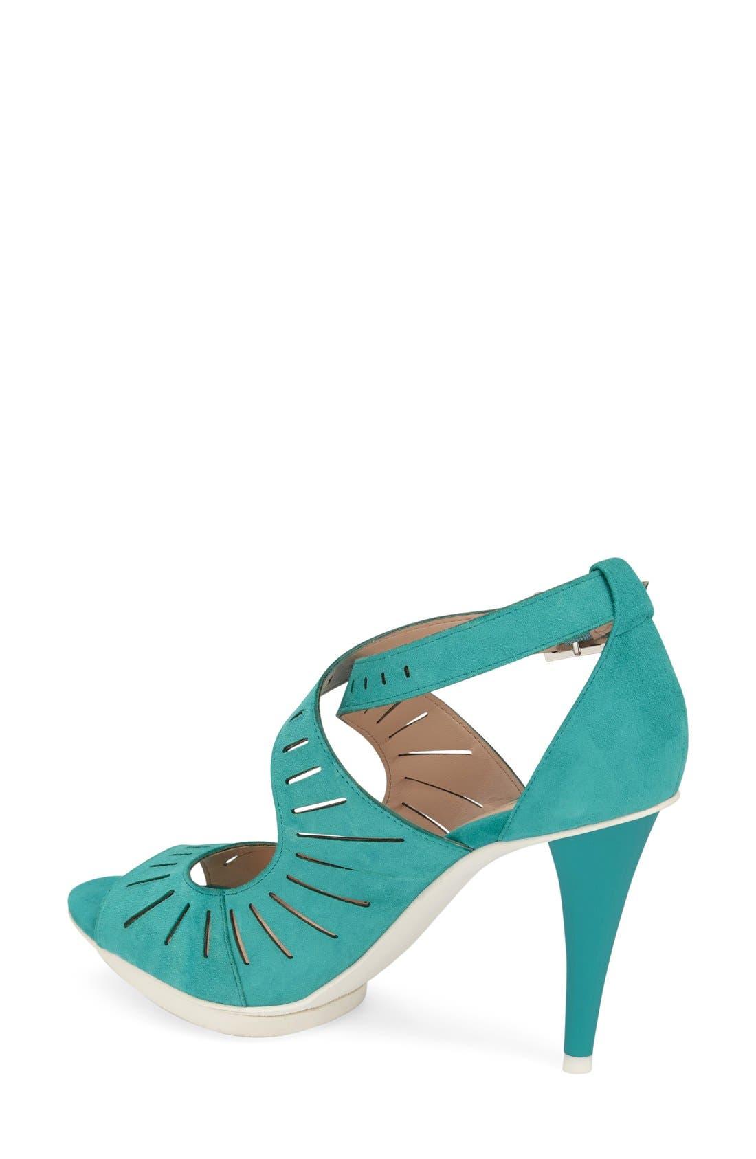 Alternate Image 2  - Pelle Moda 'Menlo' Cutout Sandal (Women)