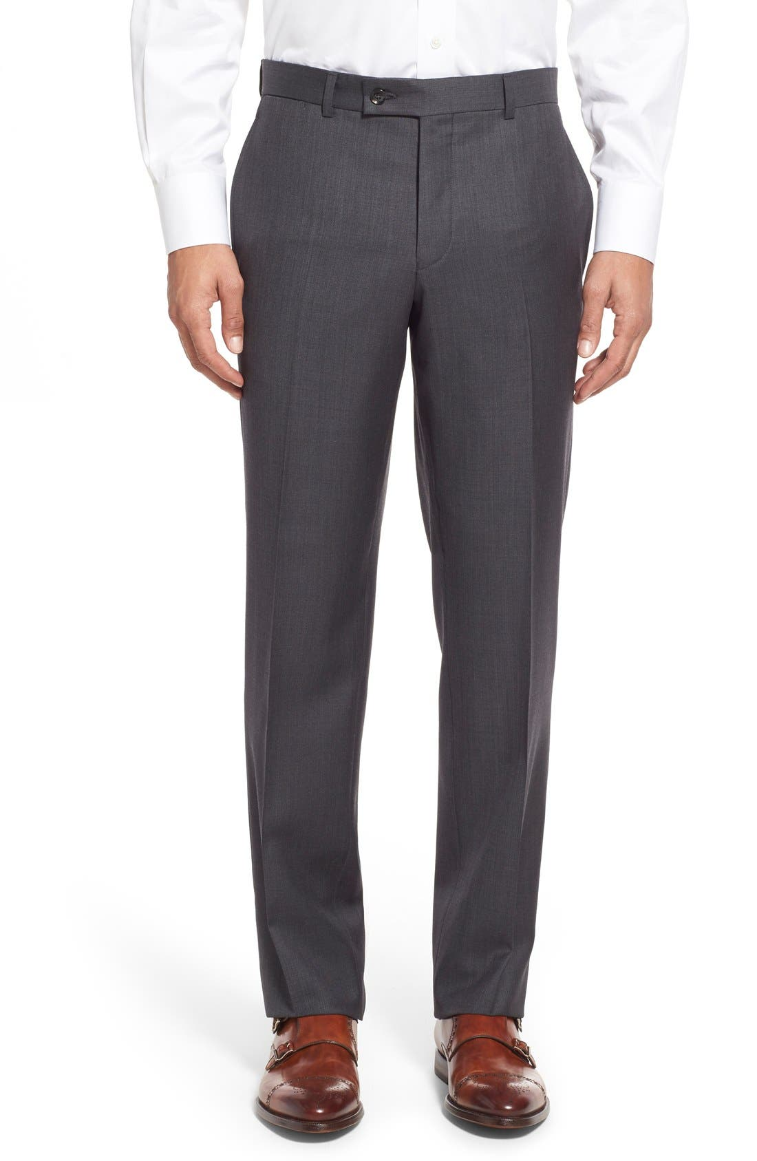 Alternate Image 7  - Ted Baker London 'Jay' Trim Fit Solid Wool Suit